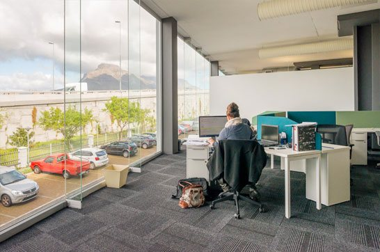 Cape town office with a view