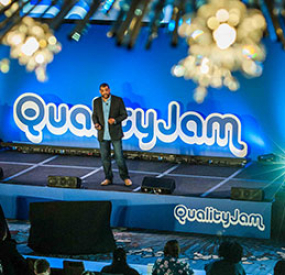 DVT and Inspired Testing talk chatbot at Quality Jam London 2018